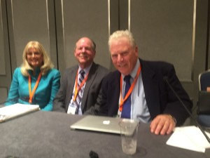Daniel and his co-presenters at the California State Bar Association 88th Annual Meeting. From left to right: Gilda Turitz, Ken Malovos and Daniel Yamshon